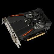 Placa video Gigabyte NVIDIA GeForce GTX 1050 D5 2G, N1050D5-2GD, PCI-E 3.0 x 16, GDDR5 2 GB, 128 bit, Boost: 1493 MHz/ Base: 1379 MHz in OC Mode,