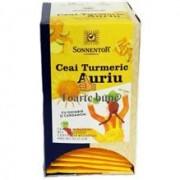 Ceai Turmeric Auriu cu Ghimbir si Cardamom Eco 18dz Sonnentor