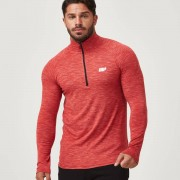 Myprotein T-Shirt Performance Manches Longues - XL - Rouge