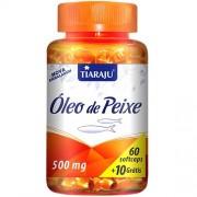 Óleo de Peixe 500 mg Softcaps - Tiaraju