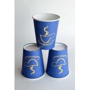 Pahar carton 6oz Blue SBP 50buc