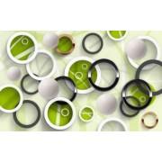 Fototapet Decorativ Creative Decor Cerneala Ecologica 200 x 300 cm Model 3D46