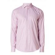 HUGO BOSS Gordon slim fit overhemd met geruit dessin