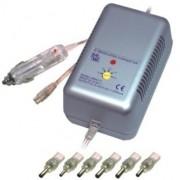 Универсален захранващ адаптор за преносими компютри от гнездо за запалка на автомобил MW 2171CE