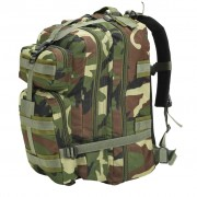 vidaXL terepmintás katonai hátizsák 50 L