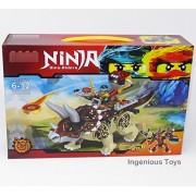 Ingenious Toys Ninja The Dino Riders/Construction Set #Gg029-2