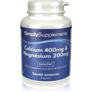 Simply Supplements Calcium-400mg-magnesium-200mg - Large