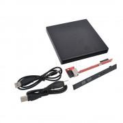 Kebidu USB 2.0 DVD CD DVD-Rom DVD RW Naar SATA Harde Schijf Caddy Adapter Externe Case Slim Voor Laptop Computer PC