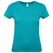 Majica kratki rukavi BC E150/women tirkizna S 900003911