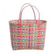 Overbeck & Friends Markttasche Jamie rot groß oval