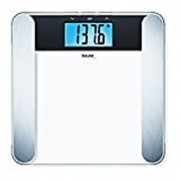 Beurer Glass Body Scale Measures Weight Fat Water and Muscle Percentages