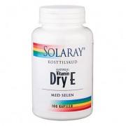 Solaray - Dry E-vitamin med Selen (100 kapslar)