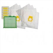 Sáčky + HEPA filtr do vysavače Rowenta Silence Force, Extreme, Compact 8+1 ks (2x RMB15K, HEPA, 1x blistr vůně Les)