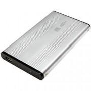 Techly Box HDD Esterno SATA 2.5'' USB 2.0 Grigio