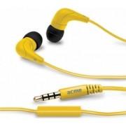 Casti ACME cu microfon HE15Y Yellow