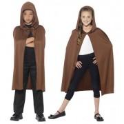 Smiffys Bruine tovernaar cape voor kids