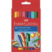 Carioca Connector 10 culori Faber-Castell