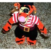 "Retired Disney Winnie the Pooh Yo Ho Yo Ho Pirates Life For Me Ship Mate Pirate 8"" Plush Tigger Bean"