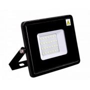 Proiector SMD Slim LED 200W 17000lm 6500K lumina rece negru Novelite 42014