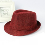 Men Women Wide Brim Panama Fedora Hats Jazz Caps Top Beach Visor Hat
