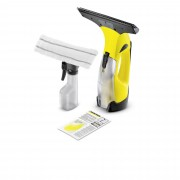 Kärcher WV 1 PLUS Aspiragocce con spray lavavetri Autonomia 20 minuti
