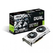 VGA Asus DUAL-GTX1060-6G, nVidia GeForce GTX 1060, 6GB 192-bit GDDR5, do 1708MHz, DP 2x, DVI-D, HDMI 2x, 36mj