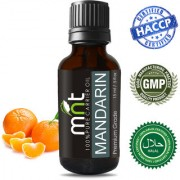 MNT Mandarin Essential Oil (15Ml) 100% Pure Natural & Undiluted Therapeutic Grade & Aromatherapy for Skincare & Weight Loss
