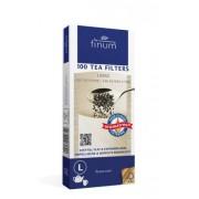 Finum filtry do herbaty L 100 szt. brązowe