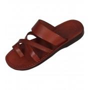 Faraon-Sandals NARMER Uni kožené pantofle 008 NARMER 41