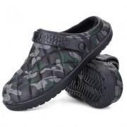 Men Leisure Warm Anti-slip Dual-use Home Slippers