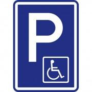 B2B Partner Dopravní značka – parkoviště pro vozíčkáře