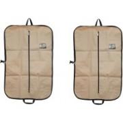 PRAHAN INTERNATIONAL Men's Coat Blazar Cover Bag Suit cover Pack of2 PIS-C2B064(Ivory)