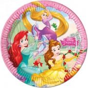 Set 8 farfurii mari Princess Dreaming