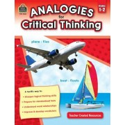Analogies for Critical Thinking Grade 1-2, Paperback