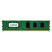 Crucial 8GB DDR3L 1600MT/s (PC3-12800) DR x8 CL11 Unbuffered ECC UDIMM 240pin 1.35V