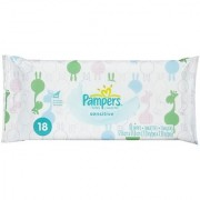 Pampers Sensitive Wipes - Soft Pack - 18 Ct