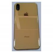 Carcaça para iPhone XS max gold sem componentes com logo