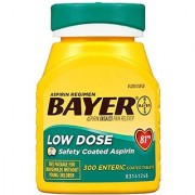 Bayer Aspirin Regimen Low Dose 81mg Enteric Coated Tablets 300-Count