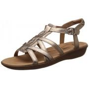 Clarks Women's Manilla Bonita Beige Fashion Sandals - 6.5 UK/India (40 EU)