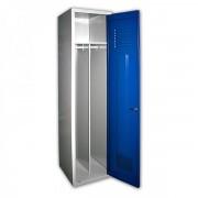 Medros Profi kovová skříň svařovaná na soklu 50 s přepážkou tmavě modrá - ral 5010