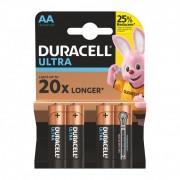 Set 4 baterii Duracell Ultra, tip AAA