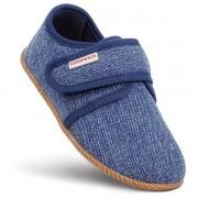 Giesswein Kid`s Senscheid Pantofole (26, blu/grigio)