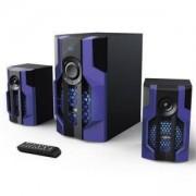 Гейминг звукова система HAMA Urage SoundZ Evolution 2.1 80W, Bluetooth, USB, SD Card, HAMA-113765