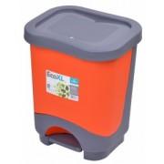 Cos de gunoi EKO XL 24 l cu galeata si maner orange