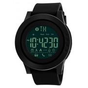 Mastop Smart Watch Pedometer Calories Bluetooth Clocks Waterproof Digital Outdoor Chronograph Sports Watches (Black)