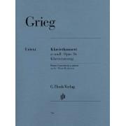 Grieg Edvard Piano Concerto A Minor Op 16