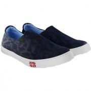 Blinder Blue Mesh Casual Mocassion Loafers Shoes For Men