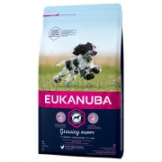 Eukanuba Growing Puppy Medium Breed Pollo - 15 kg