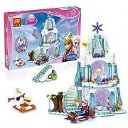Vaibhav Frozen Princess Elsa's Sparkling Ice Castle 79168- 299PCS