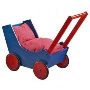 HABA Dockvagn 1625 Bokträ blå/röd